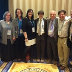 (From L-R) Rabbi Elan Babchuck (Temple Emanu-El), Minna Ellison (Alliance), Rabbi Sarah Mack (Temple Beth-El), Erin Moseley (Alliance), Rabbi Barry Dollinger (Temple Beth Sholom), Rabbi Wayne Franklin (Temple Emanu-El), Jeffrey K. Savit (Alliance), and Terry Smiley (Federation of Cape Cod).